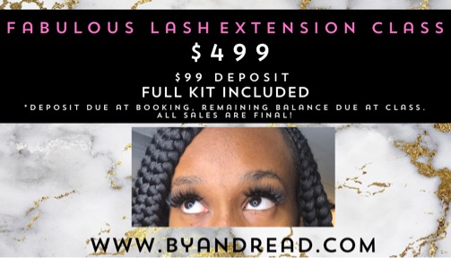 Hands On Lash Extension Class